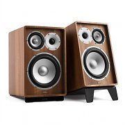 NUMAN RETROSPECTIVE 1978 MKII - Three-Way Bookshelf Speaker Pair walnut/black