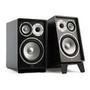 NUMAN RETROSPECTIVE 1978 MKII - Three-Way Bookshelf Speaker Pair black/black