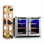 Klarstein Reserva Saloon Wine Set 2-pc Wine Refrigerator Wine Rack