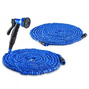 Waldbeck Water Wizard Garden Hose 60 M Set 30 M Hose 30 M Extension Blue
