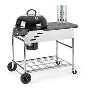 Klarstein Meatpacker Set XXL Charcoal BBQ Smoker & Electric Igniter
