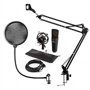 auna MIC-920B USB Microphone Set V4 Condenser Microphone  Microphone Arm Pop Protection