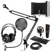 auna MIC-920B USB Microphone Set V5 Headphones Microphone Microphone Arm Pop Filter Shield