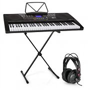Schubert Etude 225 USB Learning Keyboard with Headphones and Keyboard Stand