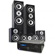 Platinum Home Cinema System - Amplifier Speaker Set - Black