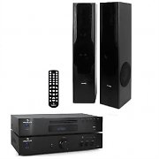 "HiFi System ""Classic Pro"" - 600W Amplifier, MP3 CD Player & Tower Speakers"
