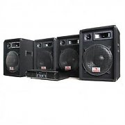 DJ PA Package &quot;Bronx Buster&quot; 2000W Disco Set