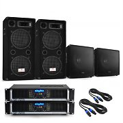 "3000W PA System 'Summer Nights' 12"" Speakers, 2 x Subwoofers & Amplifiers"