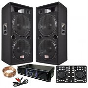 PA System &quot;London Calling&quot; Dual 15&quot; 3000W Speakers Midi Controller Pro 2000W Amp