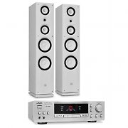 Sleek Design &quot;Koda Tower&quot; Home Hi-Fi Speaker &amp; Amplifier Bundle