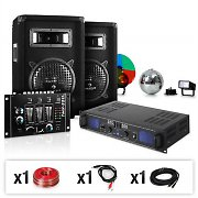 "DJ ""Apollo Blast"" Party Package PA Set 500W"