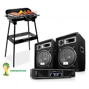 "The "" World Cup Grill Party "" PA Speaker Set"