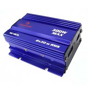 Auna 300 Watt Mini Car Hifi Amplifier in Blue