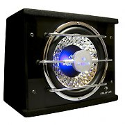 "Auna 10"" In-Car Hifi Subwoofer Bassbox 600 Watts with LED lights"