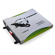 Cougar C600.4 Bridgeable 4 Channel Car Hifi Amplifier 2000W