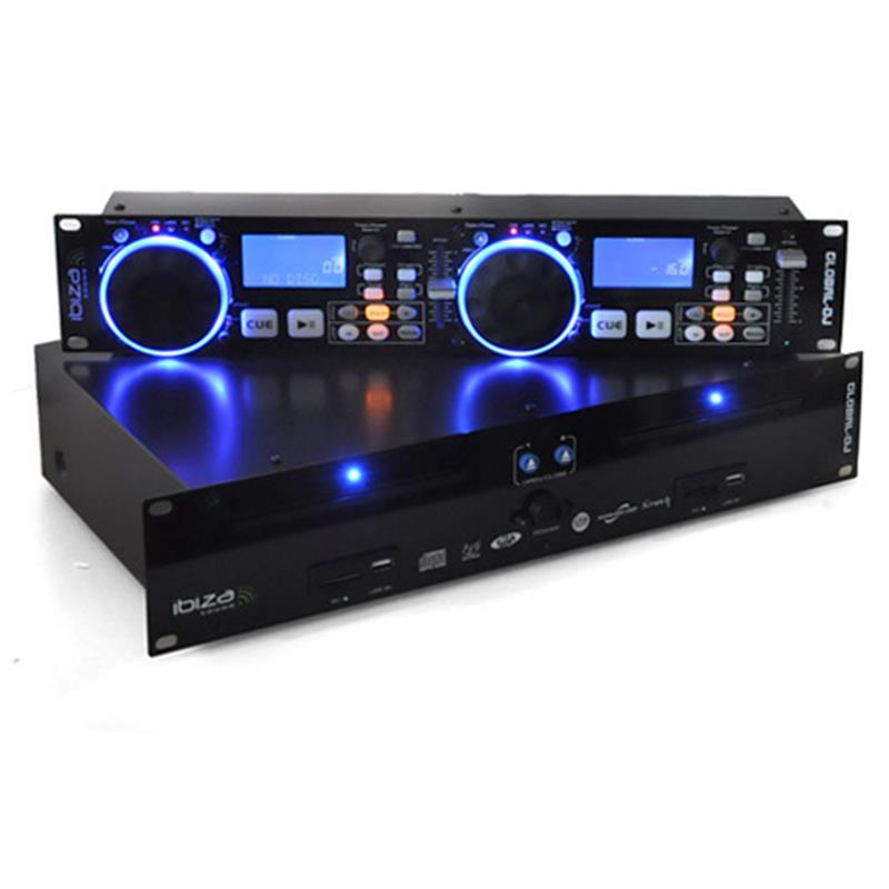ibiza global dj dual cd mp3 player scratch sd usb at the best price. Black Bedroom Furniture Sets. Home Design Ideas