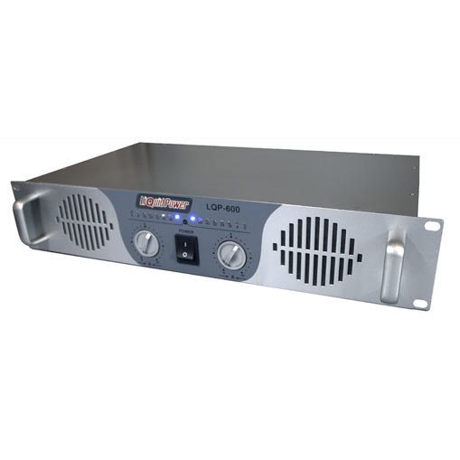 Liquid Power LQP 600 PA DJ Amplifier 960 W: Click to enlarge image!