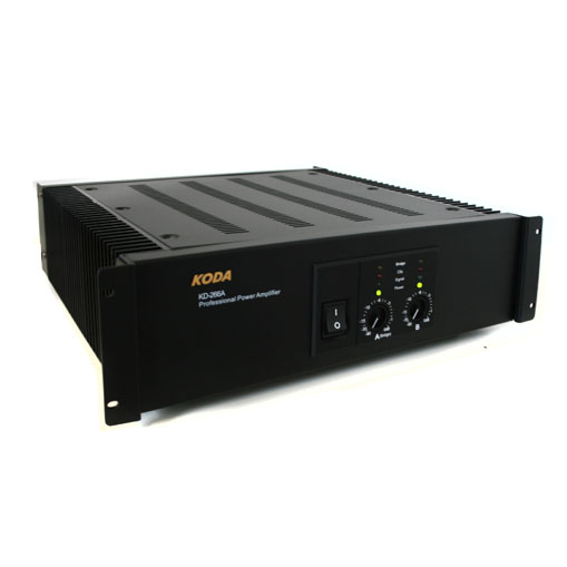 Koda KD-266A DJ PA Amplifier Bridgeable - 4000W Max: Click to enlarge image!