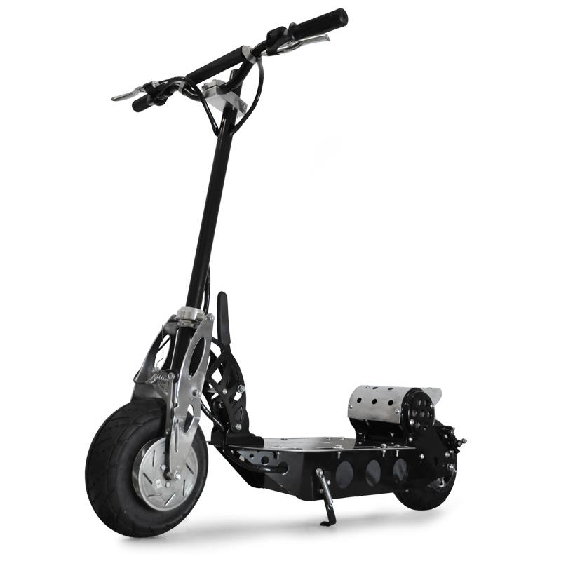 Deluxe V12 Electric Scooter 500 Watts 23 mph (38 km/h): Click to enlarge image!