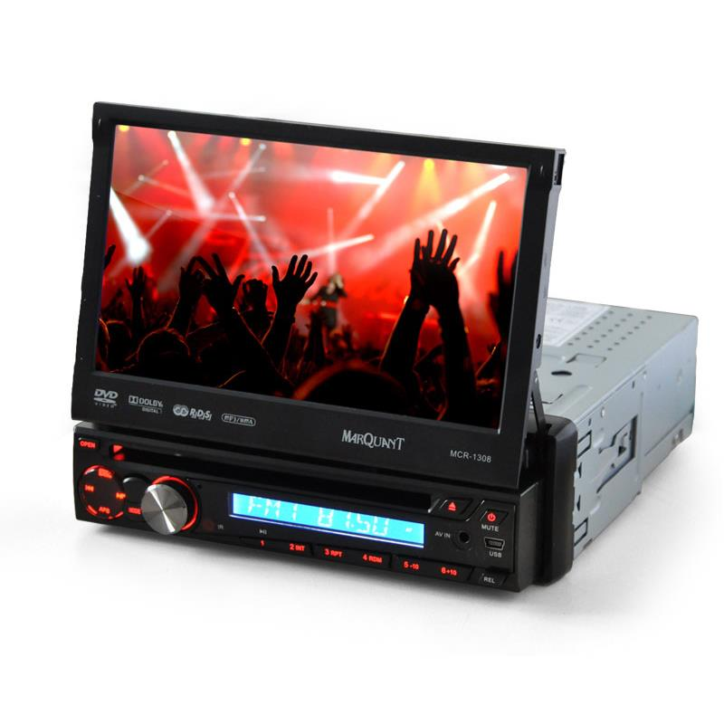 "Marquant MCR 1308 Moniceiver DVD Car Stereo with 7"" Display: Click to enlarge image!"