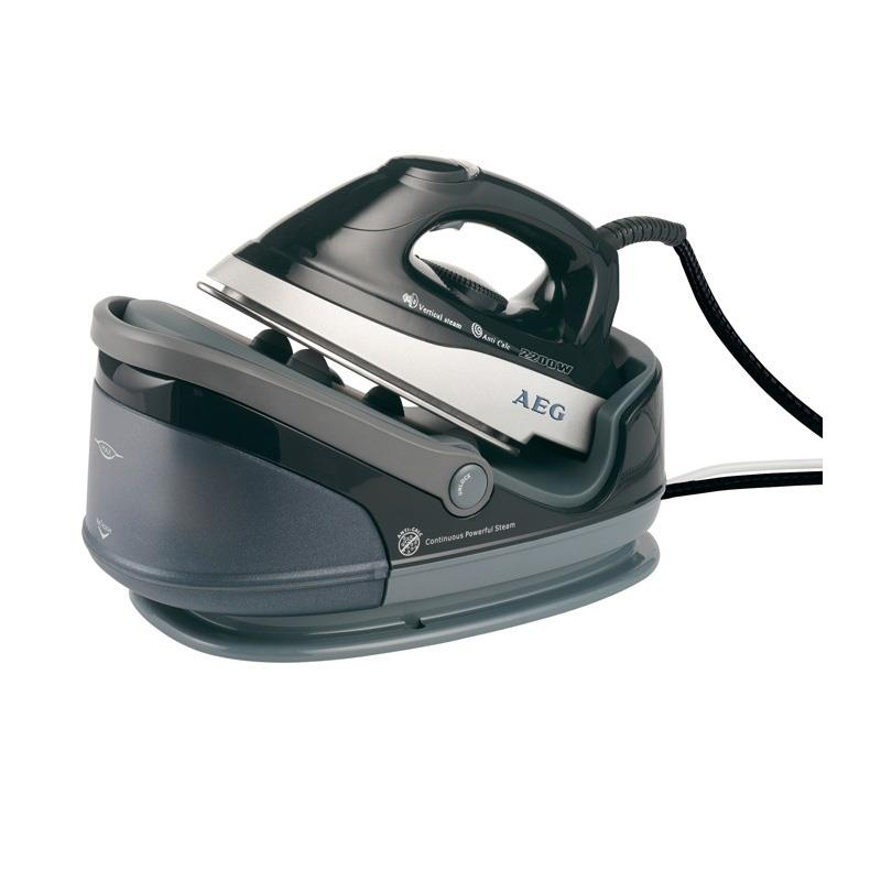 AEG DBS-5558 Stainless Steel Clothing Iron Steamer 2200W 1.7L: Click to enlarge image!
