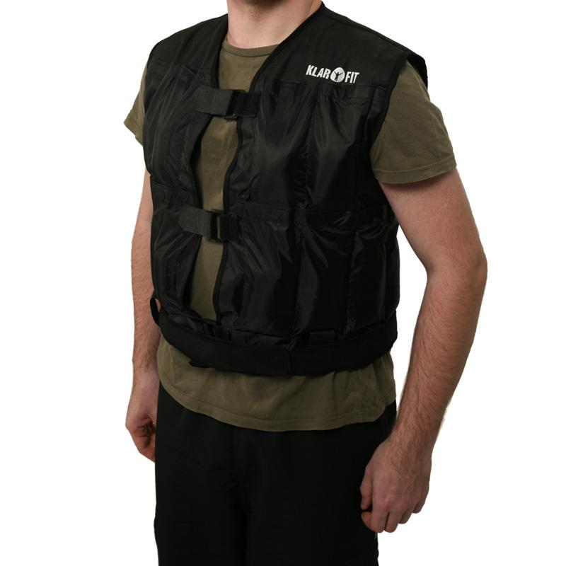 Klarfit Fit W2b10 Weight Vest 10kg For Running And Training