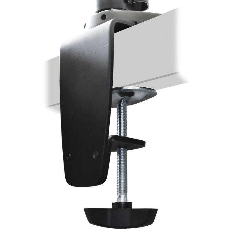 Table Mounting Bracket : Pc desktop table pole mount bracket screens lcd monitor
