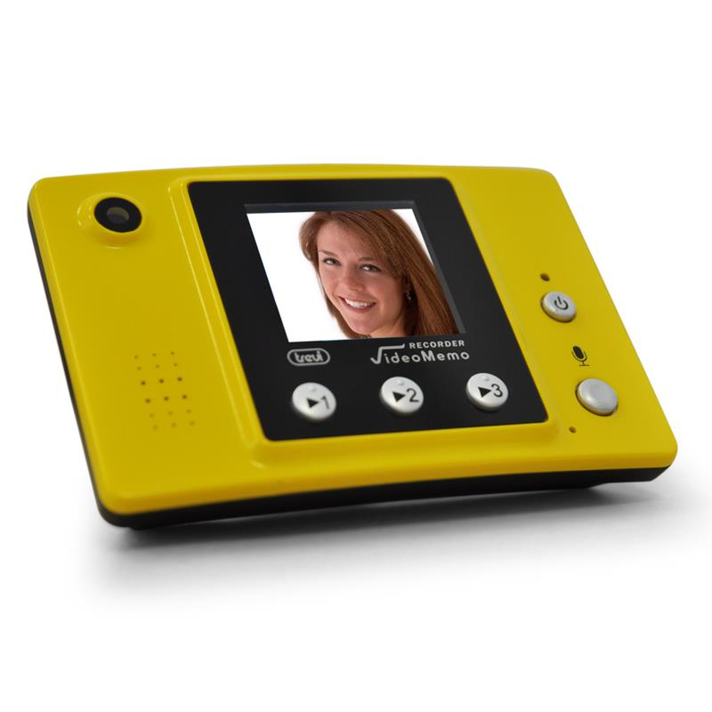 "Trevi VME30 Digital Video Memo Recorder 1.5"" Display Yellow: Click to enlarge image!"