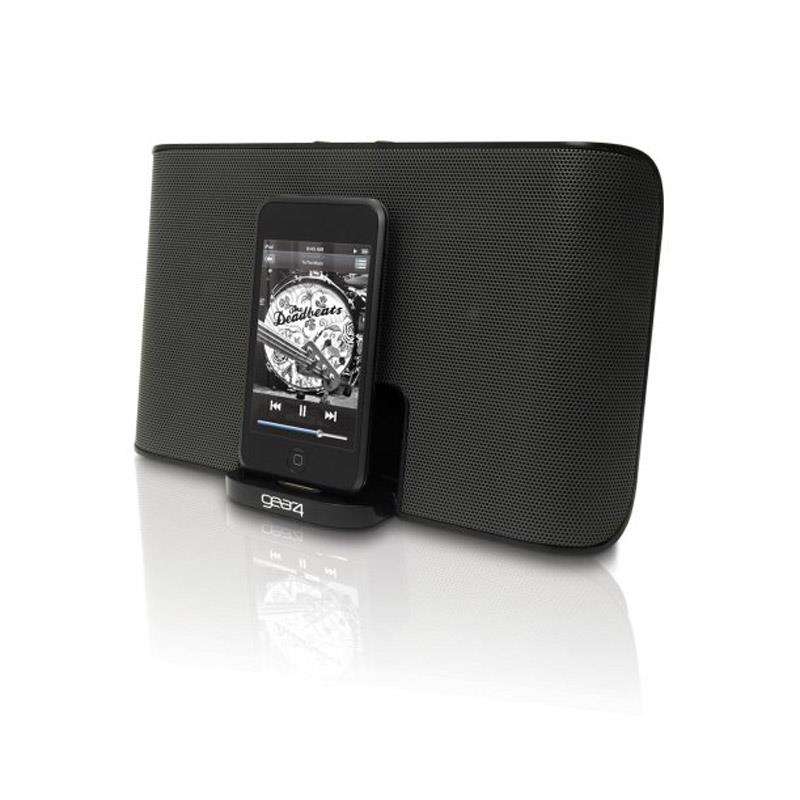Gear4 Streetparty 3 Portable iPhone iPod Speaker Dock: Click to enlarge image!