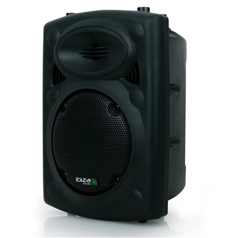 ibiza slk8 a active 8 pa speaker 300w usb sd mp3 at the. Black Bedroom Furniture Sets. Home Design Ideas