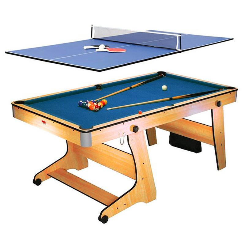 Riley fp 6tt 2 in 1 game table pool table tennis ping pong - Table billard ping pong ...