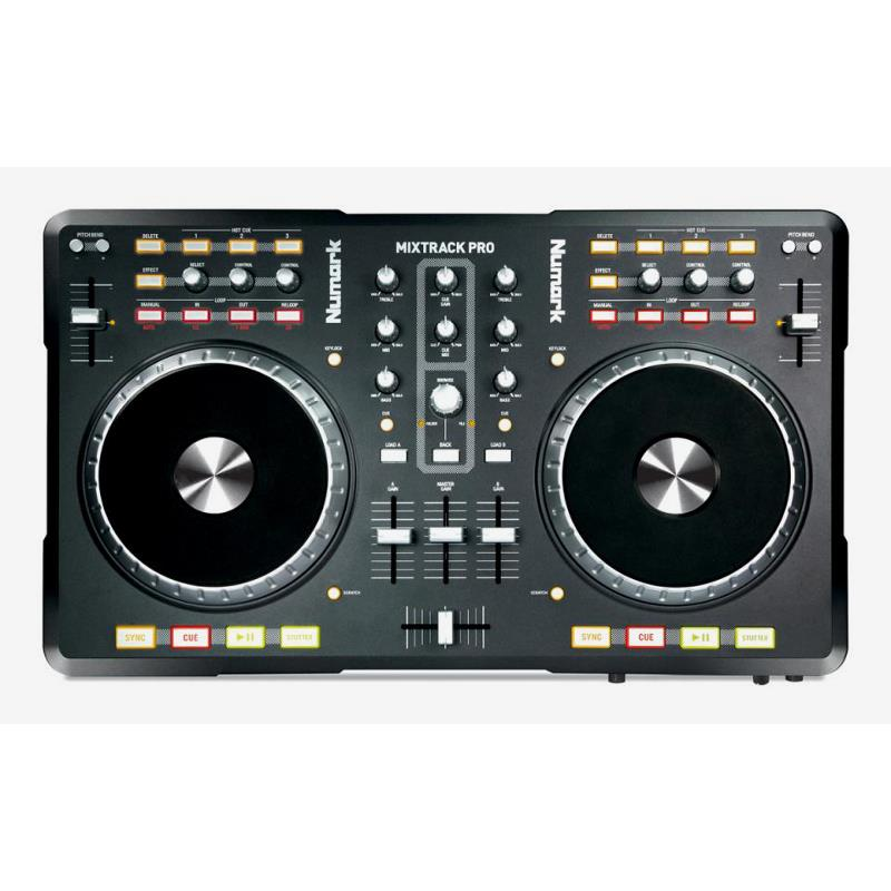 Numark Mixtrack Pro 2-Channel Digital DJ Controller: Click to enlarge image!