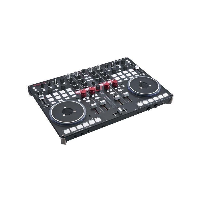 Vestax VCI-400 4 Channel MIDI DJ Controller with Serato & Virtual DJ: Click to enlarge image!