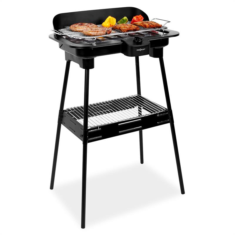 new 2000w electric bbq grill barbecue grilling w stand. Black Bedroom Furniture Sets. Home Design Ideas