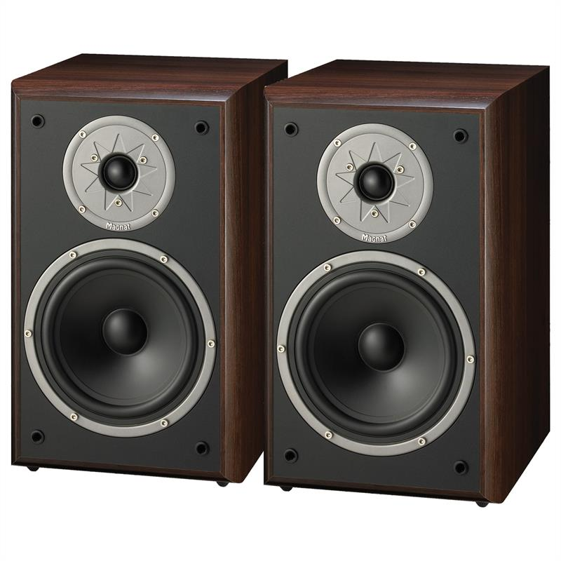 Magnat Monitor Supreme 200 Hifi Home Stereo Speakers 360W Pair - Mocha: Click to enlarge image!