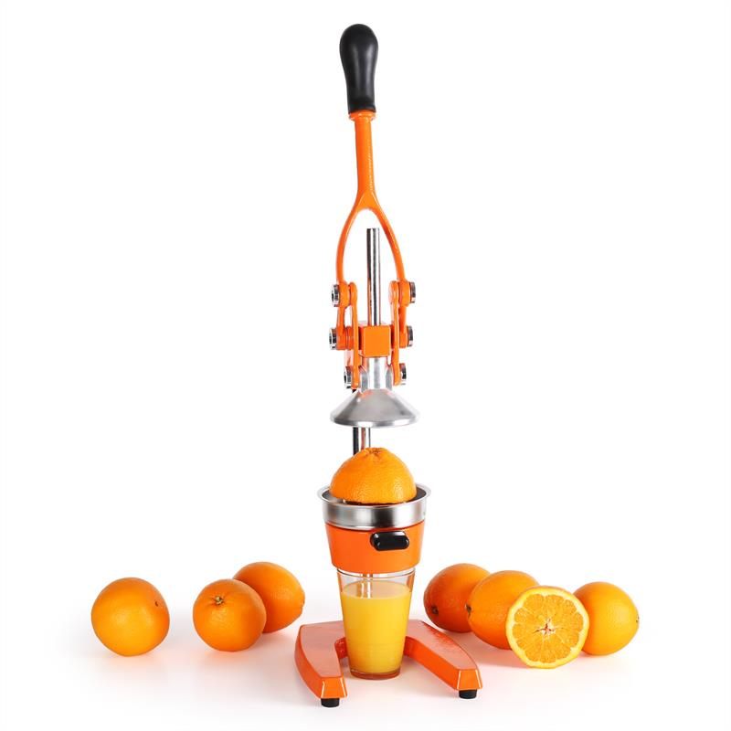 orange fruit juicer manual press portable picnic camping free p p uk offer ebay. Black Bedroom Furniture Sets. Home Design Ideas