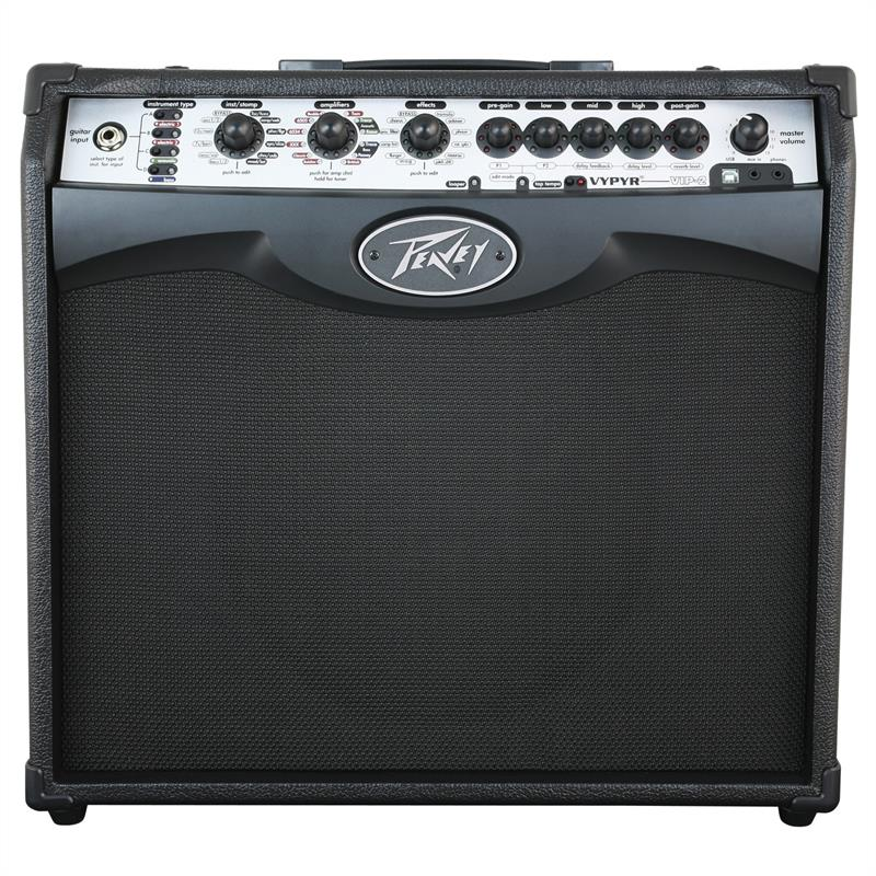"PEAVEY VYPYR VIP 2 Modelling Amp 10"" Speaker 40W RMS AUX: Click to enlarge image!"