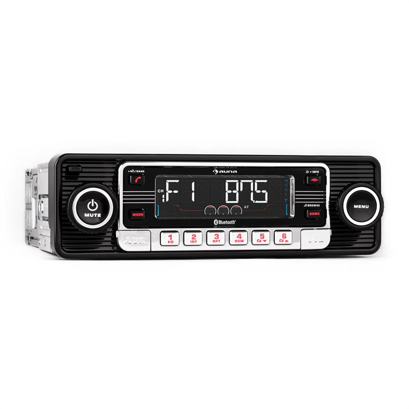 Car Cd Stereo Player Bluetooth Usb Sd Radio Headunit Music System