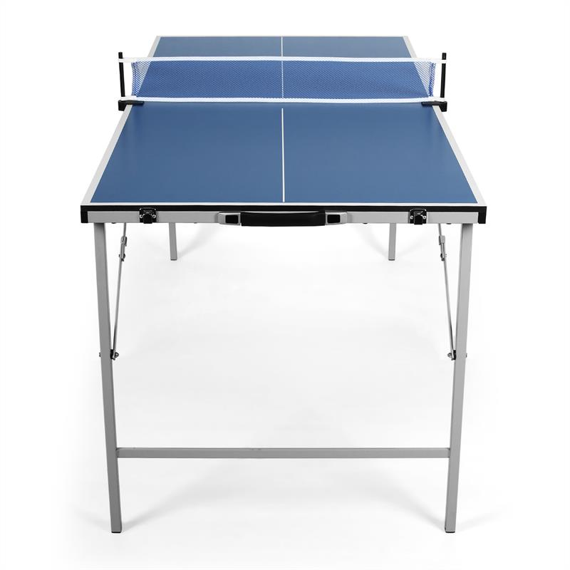Brand New Blue Foldable Ping Pong Table Tennis Table Mini