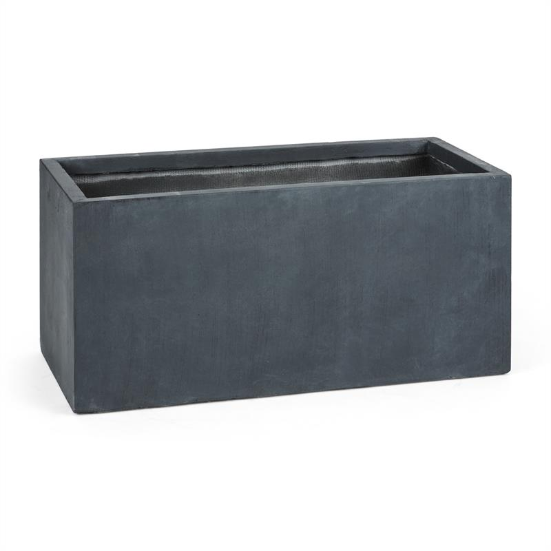 Blumfeldt Solidflor Flower Pot Planter 99x46x46 cm Fiberton