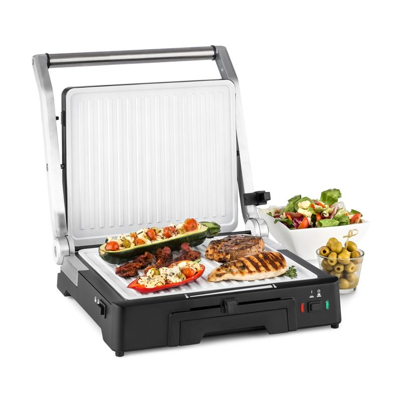 Klarstein Burgermeister 3-in-1 Contact Grill Table Grill Panini Maker 2000W