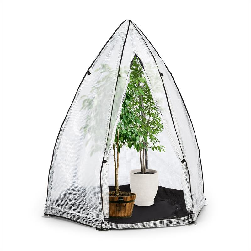 Awnings Waldbeck Greenshelter S Wintering Tent 130x150cm Steel Pipe Ø25mm PVC