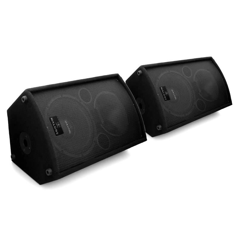 1100W Pair Active Powered Dj Pa Disco Speakers Amplified ...