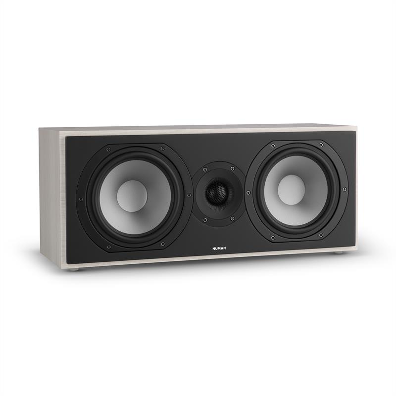 Speakers NUMAN Reference 803 2-way Centre Speaker D'Appolito Grey Oak With Silver Cover