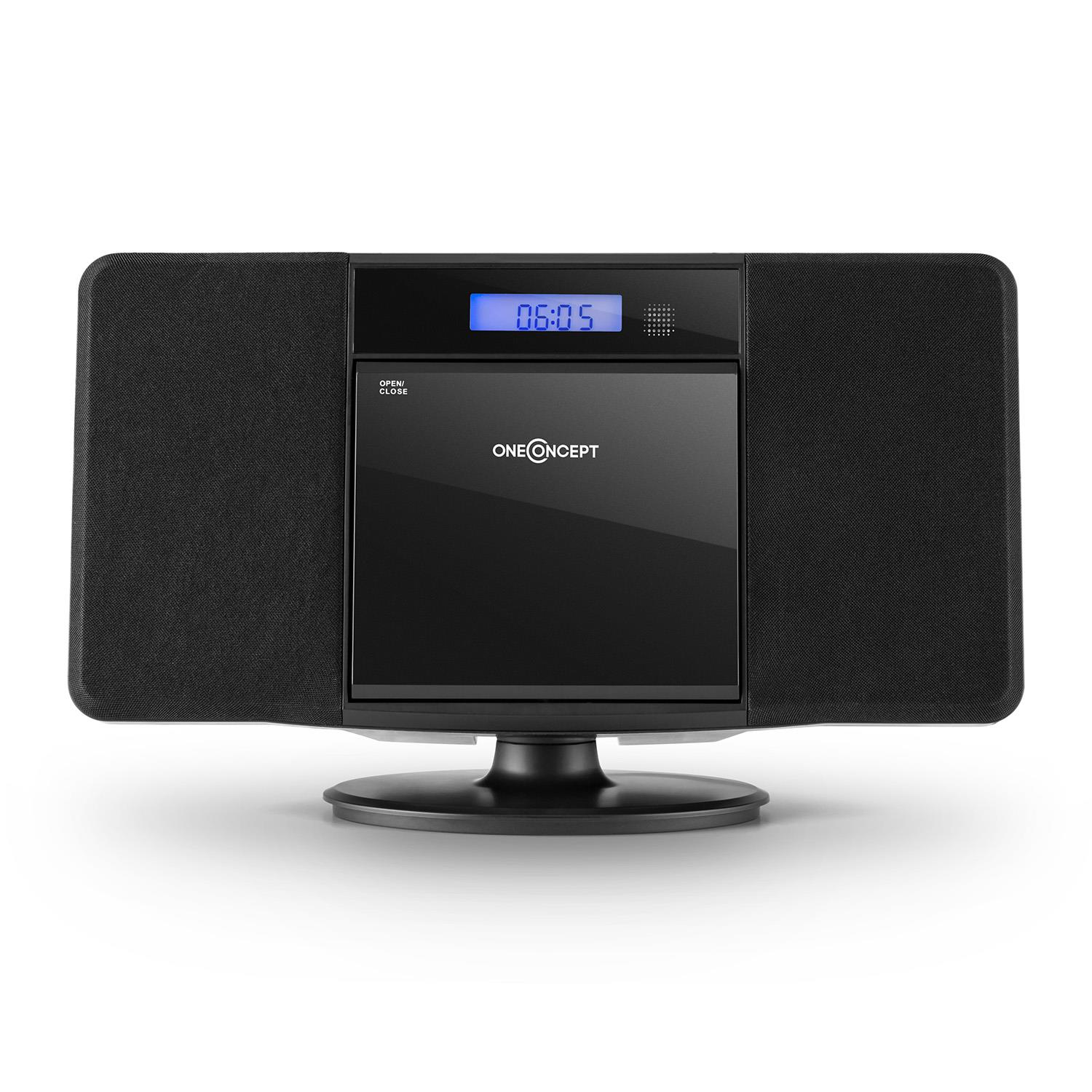 bluetooth stereo system speakers cd player hi fi portable. Black Bedroom Furniture Sets. Home Design Ideas