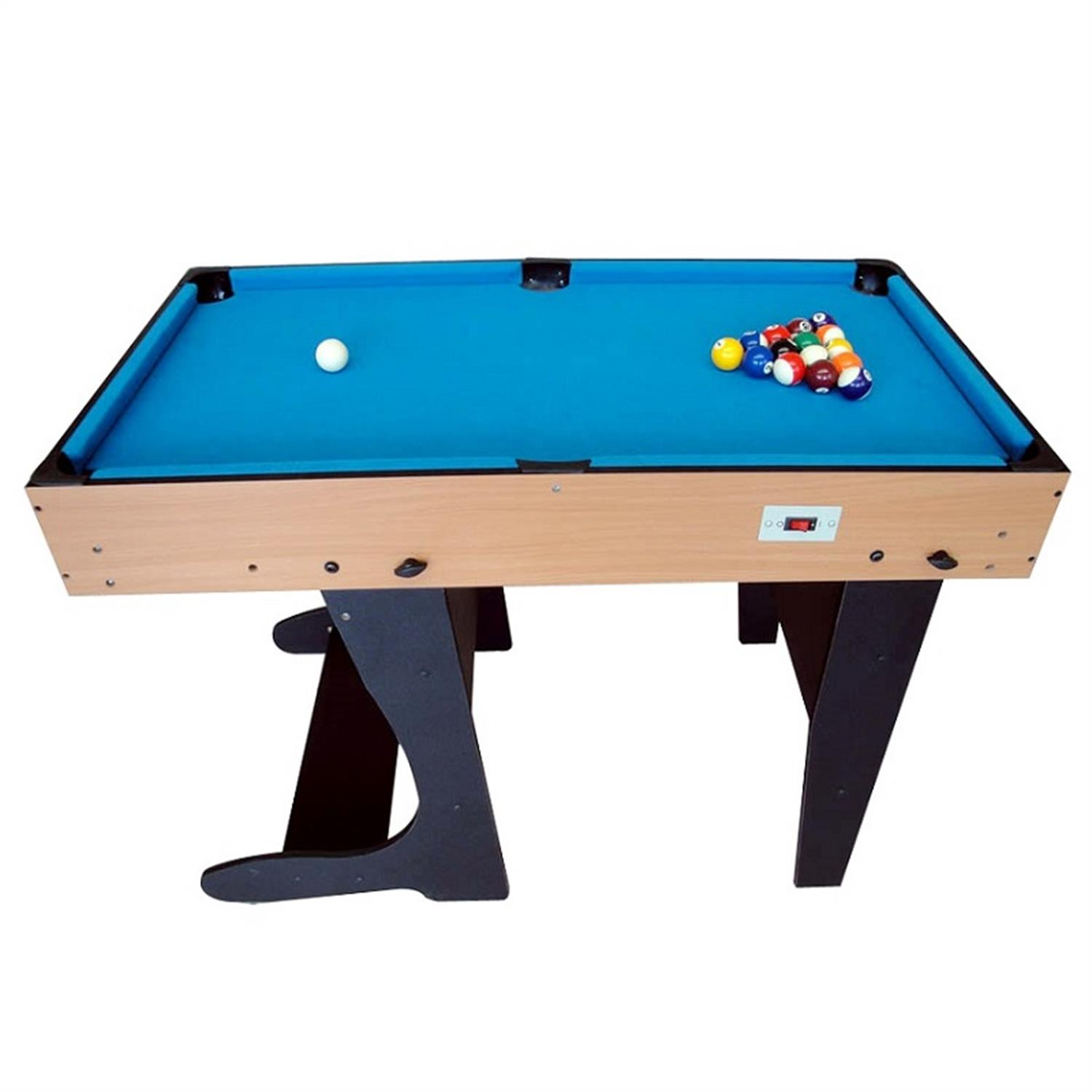 Riley 4 in 1 game table foldable 12 games air hockey for 10 in 1 pool table