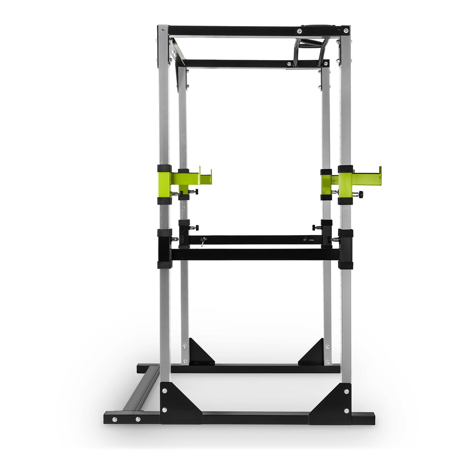 Steel Lifting : Power steel rack square weight lifting multi gym home pull