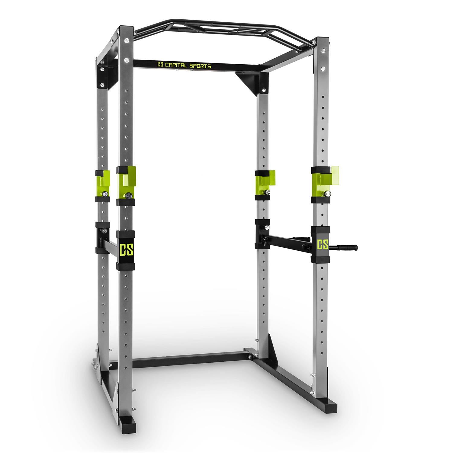 power steel rack square weight lifting multi gym home pull. Black Bedroom Furniture Sets. Home Design Ideas