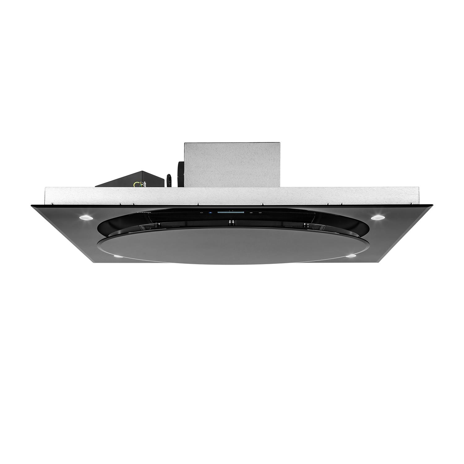 cooker hoods extractor fan kitchen chimney ceiling mount led 800m h rh ebay co uk Ceiling in Kitchen Island Hood Kitchen Island Ceiling Ventilation