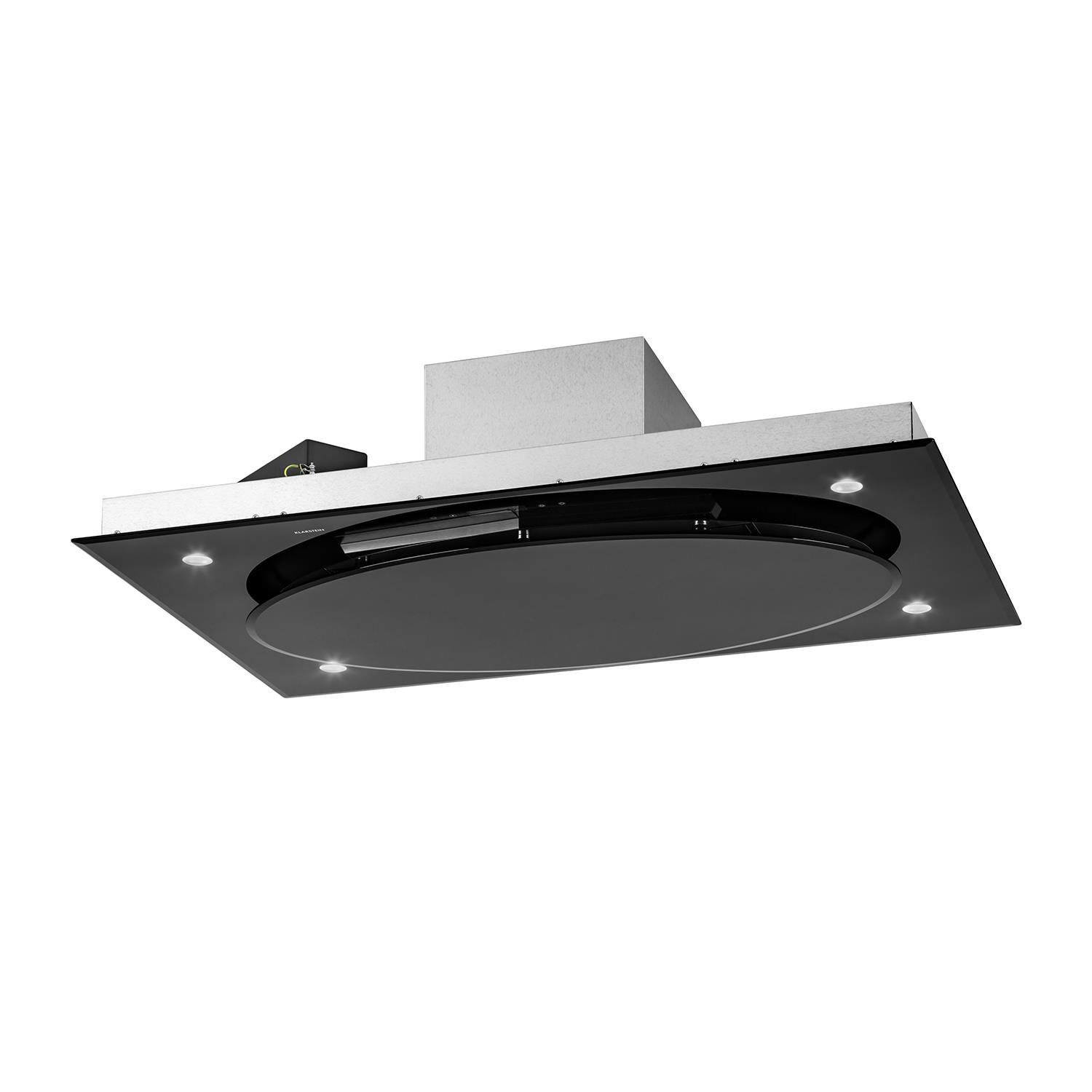 Cooker Hood With A Window ~ Klarstein stainless steel extractor cooker hood kitchen